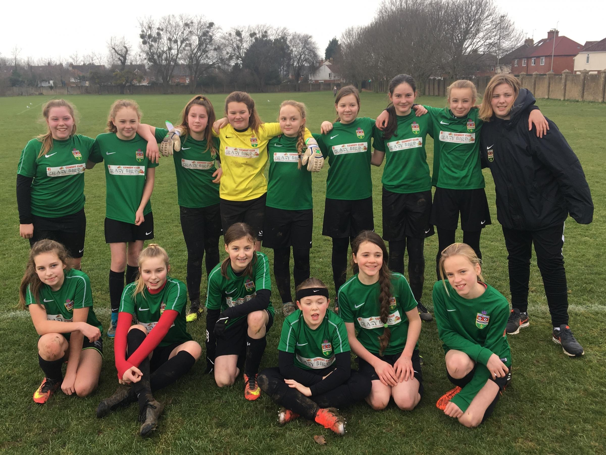 Ross Juniors under-12s girls have already won the league this year.
