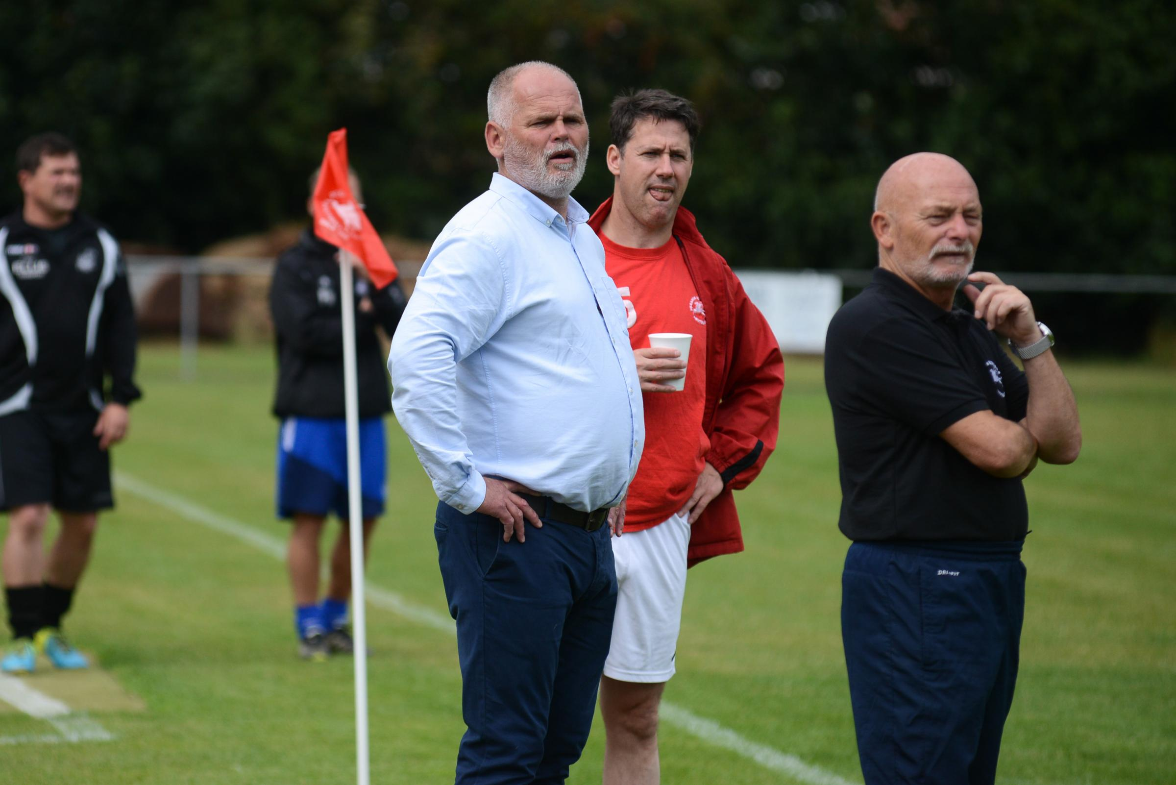 Pegasus Juniors manager Mick Panniers (left) says the club will make changes in the summer