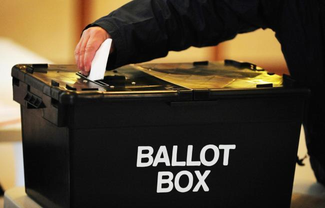 Residents are being urged to ensure they are registered to vote.
