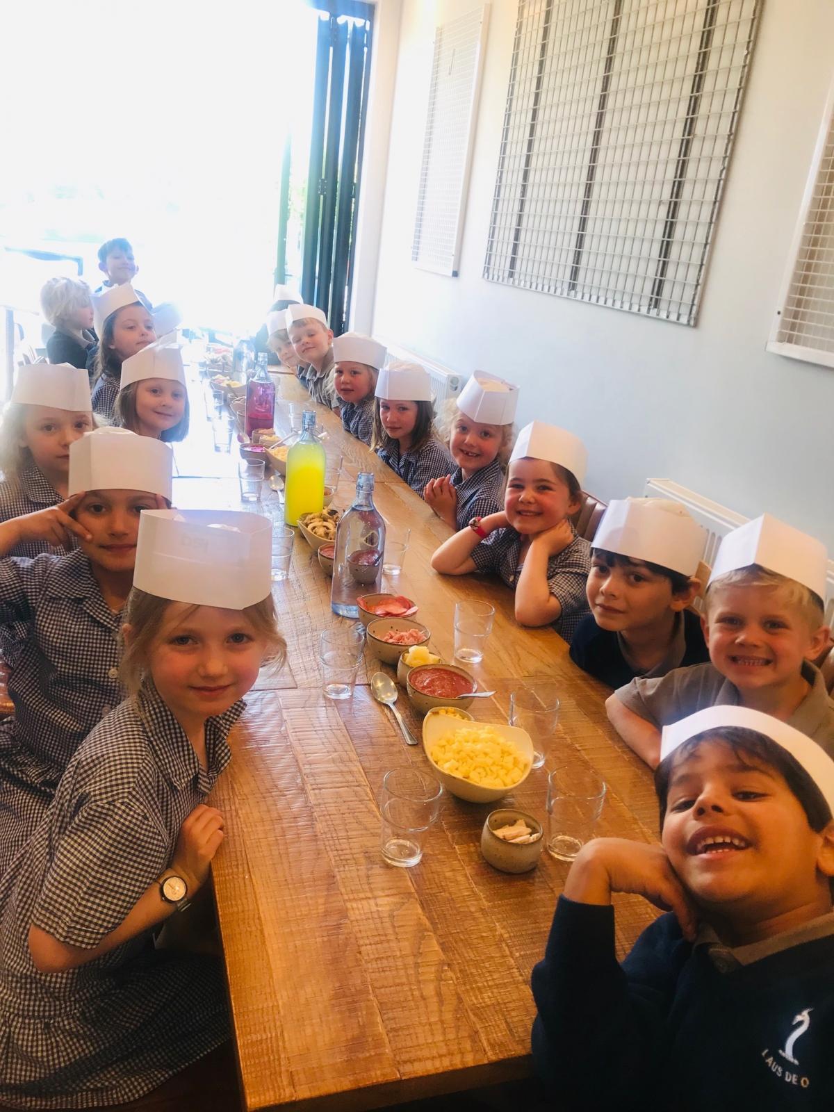 School Children Still Get Day Out Despite Pizza Express Van