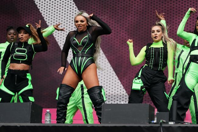 Little Mix perform at BBC Radio 1's Big Weekend