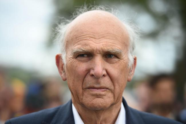 Liberal Democrats leader Sir Vince Cable visited Hereford County Hospital and warned of the dangers of a no-deal Brexit. Photo: Kirsty O'Connor/PA Wire.