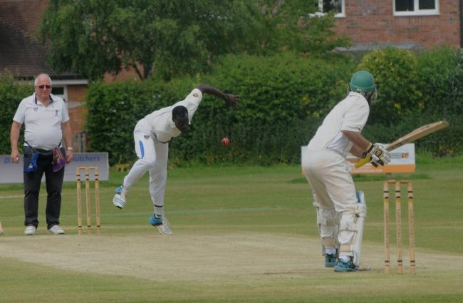 Ludlow fast bowler Ruel Brathwaite was on form with the bat on Saturday hitting 73 off 45 balls