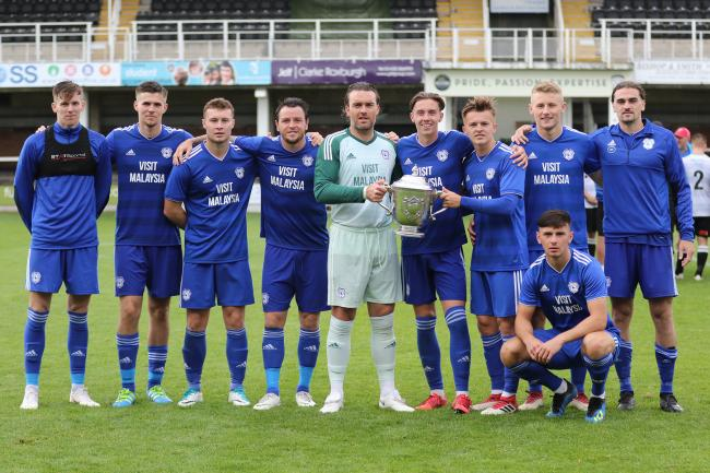 A Cardiff City side will play for the Herefordshire Senior Invitation Cup again this pre-season. Picture: Steve Niblett
