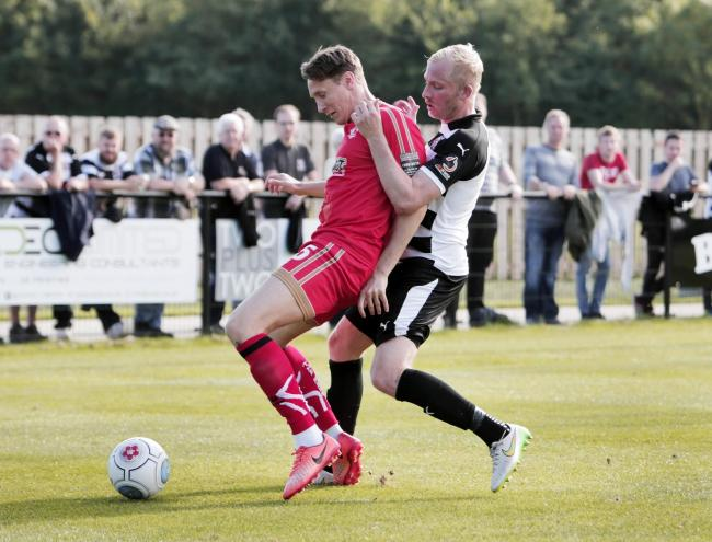Defender Martin Riley has signed for Hereford FC. Photo: Stuart Boulton.