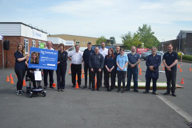 The team at TPG DisableAids successfully hosted a mobility scooter safe driving day, supported by TGA Mobility, Hereford Council and West Mercia Police