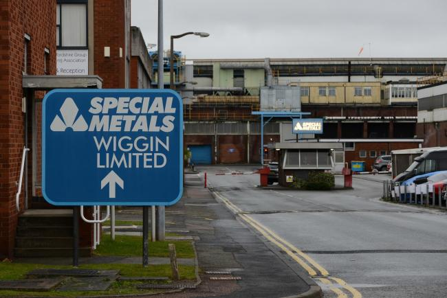 Workers at Special Metals Wiggins in Hereford will take industrial action.