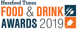 Hereford Times: Hereford Times Food & Drink  Awards 2019 logo