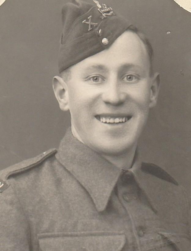 Harold Hudston was stationed in Hereford during the Second World War but sadly died after D-Day.