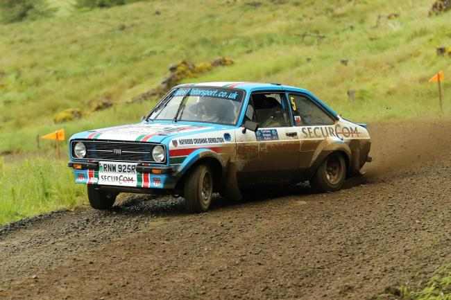 Roger Chilman and Patrick Walsh from Saturday's Carlisle Stages. Picture: Kevin Money