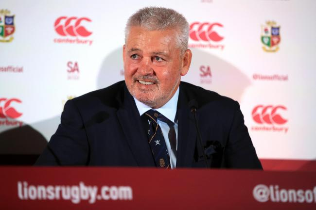 Warren Gatland is to lead the British and Irish Lions to South Africa in 2021 but he will not one day coach England